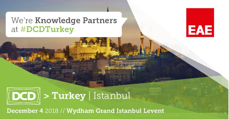 "We take part in the Data Center Dynamics Event as a ""Knowledge Partner"""