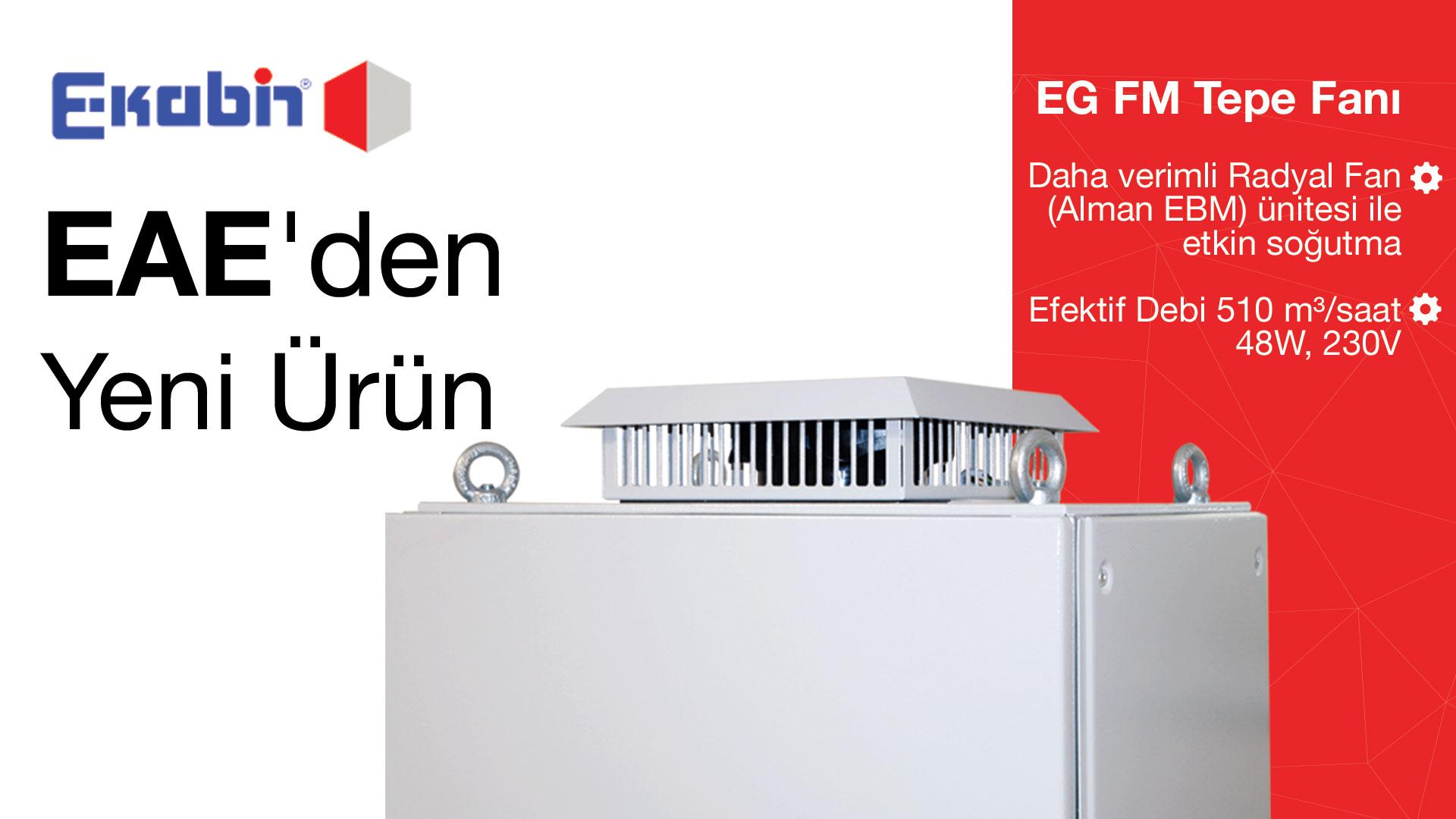 Yeni Ürün EG FM Tepe Fanı