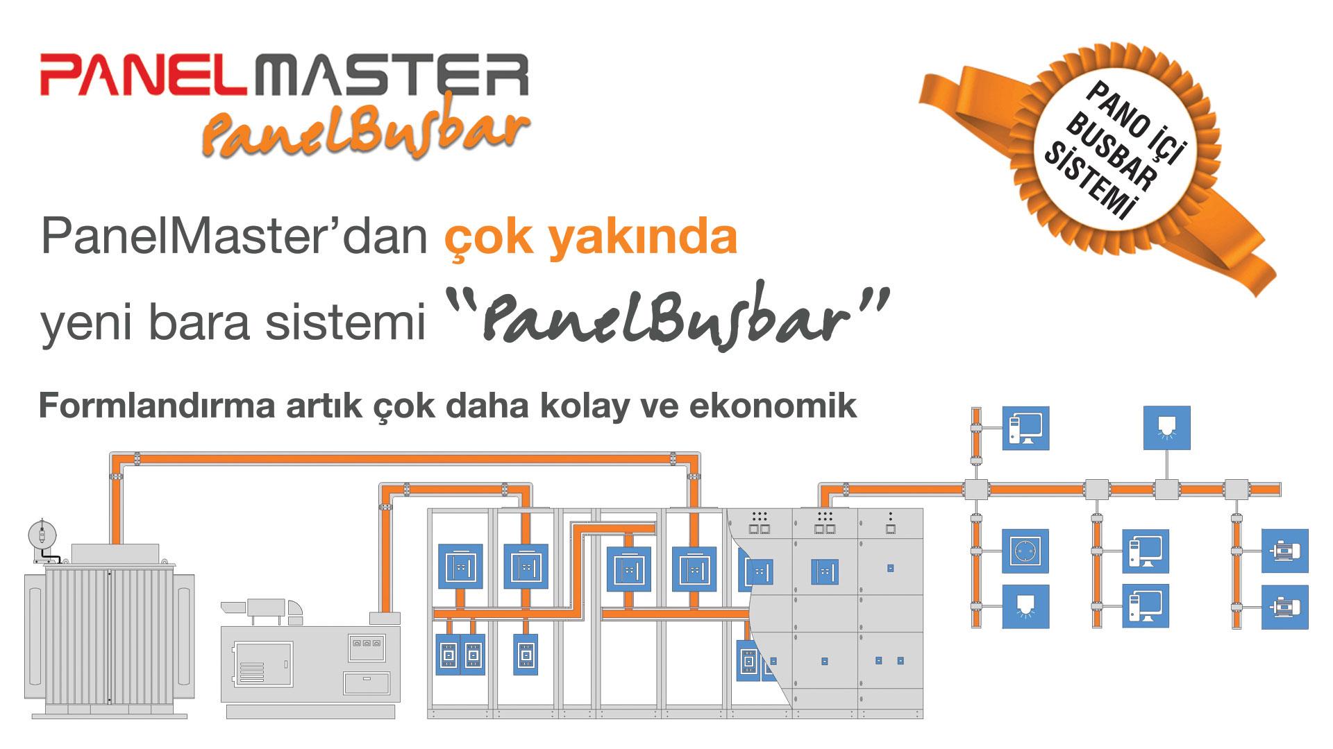 PanelMaster'dan yeni bara sistemi PanelBusbar